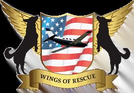 Wings o fRescue Logo