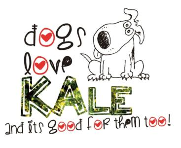 Dogs Love Kale AppleCrisp
